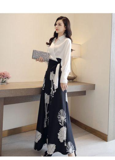 服装批发平台维罗尼卡女式风衣品牌服装拿货折扣是多少圣凯罗百搭纯色碎花裙
