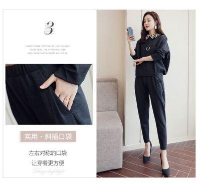 网上服装进货平台韩版女士立领风衣卖服装是就近拿货好吗伊芙心悦双排扣修身裙