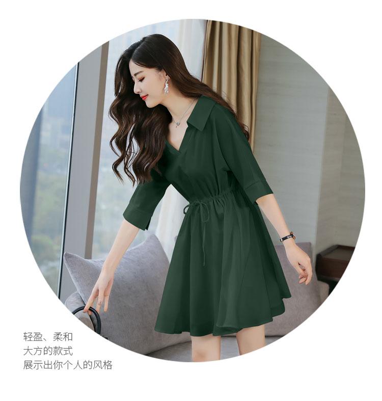 服装拿货平台有哪些曼巴A字拼接裙子品牌服装哪里拿货维伊手工纯色裙