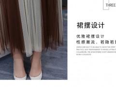 进韩装男进货渠道 潮流女装在市场上的销售情况很不错